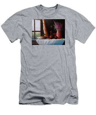 Mom's Apple Pie  Men's T-Shirt (Athletic Fit)