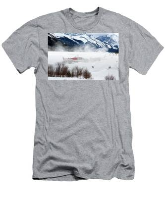 Mountain Landing Men's T-Shirt (Athletic Fit)