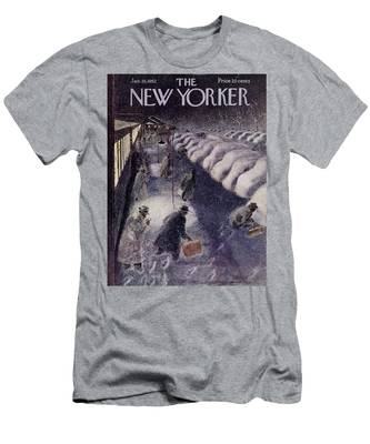New Yorker January 19 1952 Men's T-Shirt (Athletic Fit)