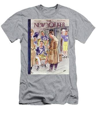 New Yorker October 27 1951 Men's T-Shirt (Athletic Fit)