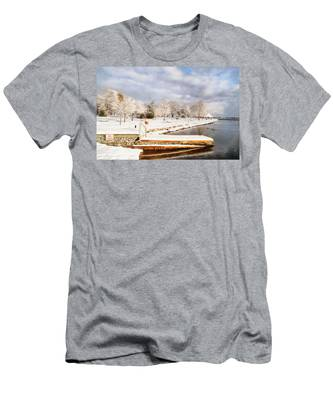 No Swimming Men's T-Shirt (Athletic Fit)