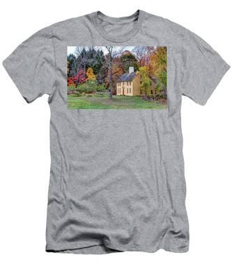 Parson Barnard House In Autumn Men's T-Shirt (Athletic Fit)