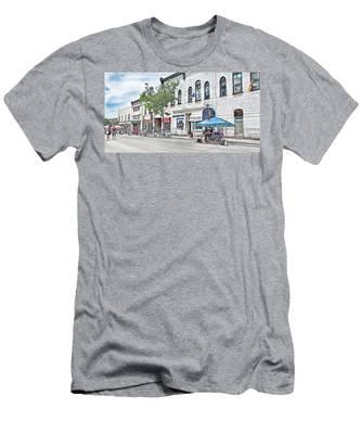 Peter Street Art Corridor Men's T-Shirt (Athletic Fit)