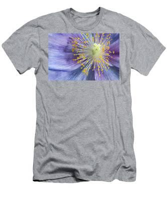 Poppy Fireworks Men's T-Shirt (Athletic Fit)