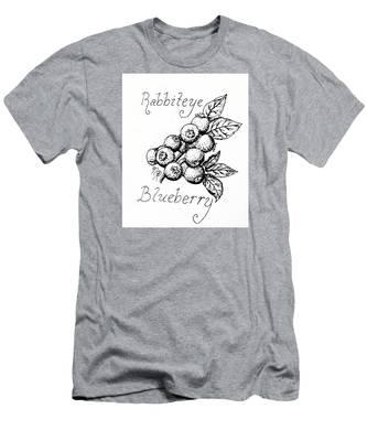 Rabbiteye Blueberry Men's T-Shirt (Athletic Fit)