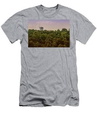 Radioactive Landscape Men's T-Shirt (Athletic Fit)