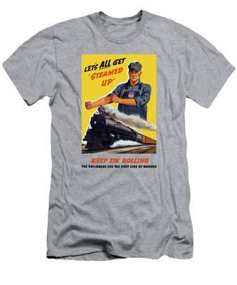 Steam Locomotive T-Shirts