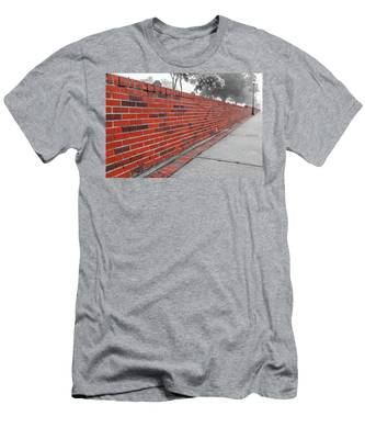 Red Brick Men's T-Shirt (Athletic Fit)
