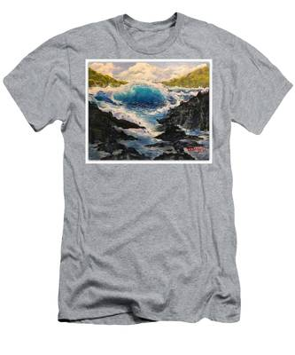 Rocky Sea Men's T-Shirt (Athletic Fit)