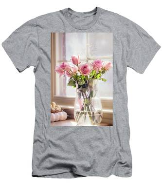 Roses In The Kitchen Men's T-Shirt (Athletic Fit)