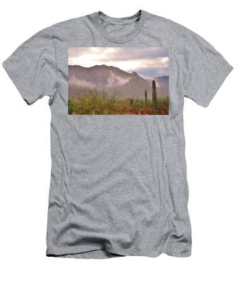 Santa Catalina Mountains II Men's T-Shirt (Athletic Fit)