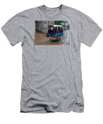 School Cart Men's T-Shirt (Athletic Fit)