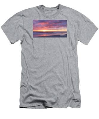 Sunrise Pinks Men's T-Shirt (Athletic Fit)