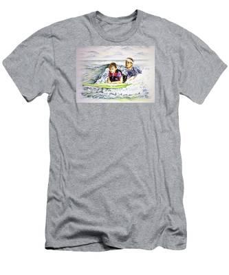 Surfers Healing Men's T-Shirt (Athletic Fit)