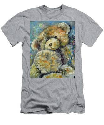Teddy Bear Men's T-Shirt (Athletic Fit)