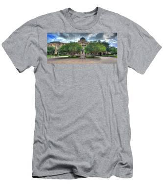The Academic Building Men's T-Shirt (Athletic Fit)