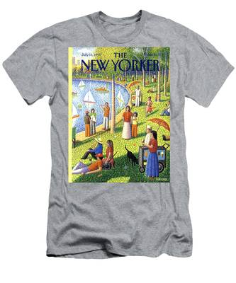 The New Yorker July 15th, 1991 Men's T-Shirt (Athletic Fit)