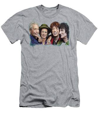 Rock N Roll The Rolling Stones T-Shirts