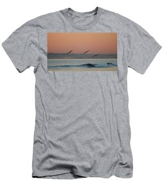 Men's T-Shirt (Athletic Fit) featuring the photograph Three Pack  by Christy Pooschke