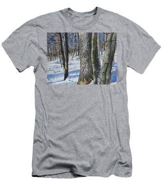 Through The Woods Men's T-Shirt (Athletic Fit)