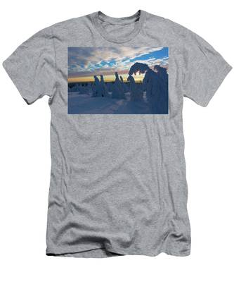 Touched From The Winter Sun Men's T-Shirt (Athletic Fit)
