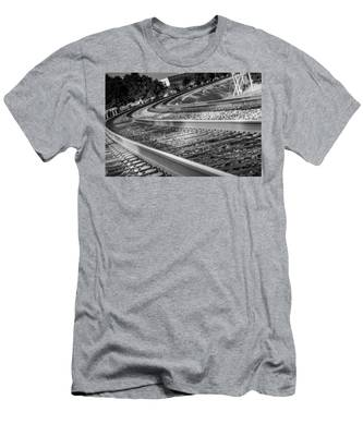 Tracks Through Historic Buford Men's T-Shirt (Athletic Fit)