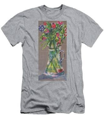 Valentine Rose Men's T-Shirt (Athletic Fit)
