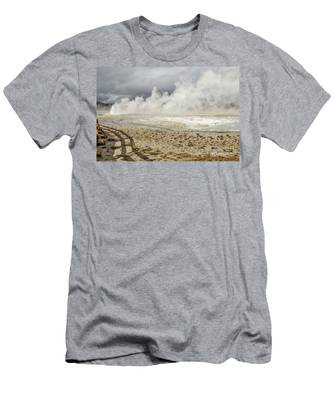 Wall Of Steam Men's T-Shirt (Athletic Fit)