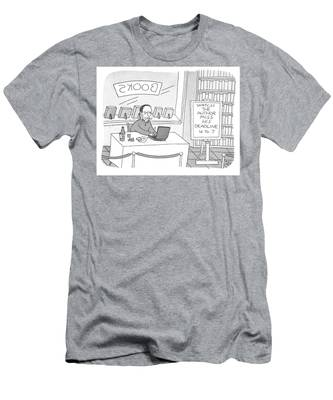 Watch The Author Miss His Deadline Men's T-Shirt (Athletic Fit)