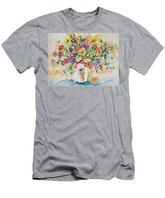 Watercolor Series 33 Men's T-Shirt (Athletic Fit)