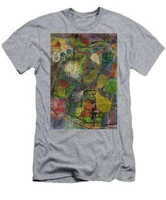 Wildflower Two Men's T-Shirt (Athletic Fit)
