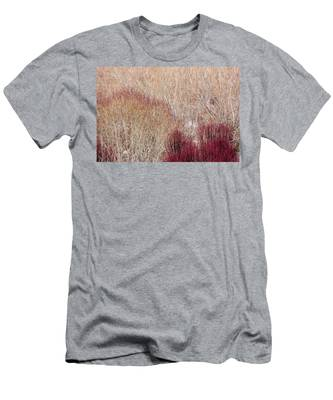 Willows In Winter Men's T-Shirt (Athletic Fit)
