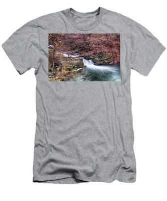 Small Falls Men's T-Shirt (Athletic Fit)