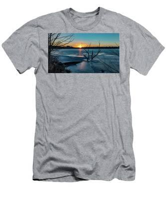 2019-012/365 January Sunset Men's T-Shirt (Athletic Fit)