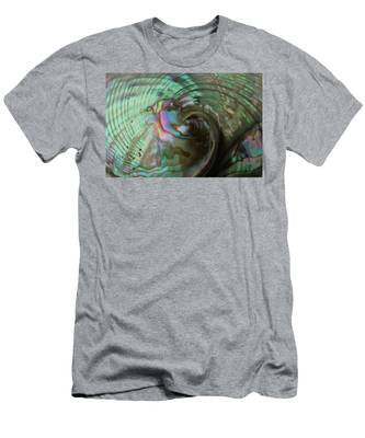 Abalone_shell_9903 Men's T-Shirt (Athletic Fit)
