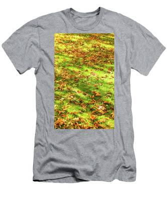 Men's T-Shirt (Athletic Fit) featuring the photograph Autumn Colors Iv by Anne Leven