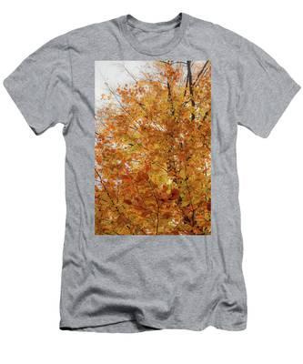 Autumn Explosion 1 Men's T-Shirt (Athletic Fit)