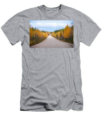 Men's T-Shirt (Athletic Fit) featuring the photograph Autumn In Ontario by Carl Young