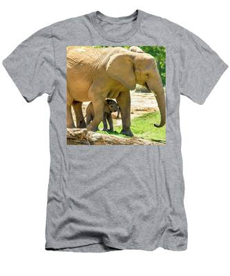 Baby's Safe House Men's T-Shirt (Athletic Fit) by Howard Bagley