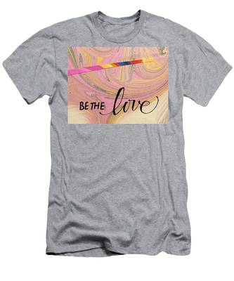 Be The Love Men's T-Shirt (Athletic Fit)