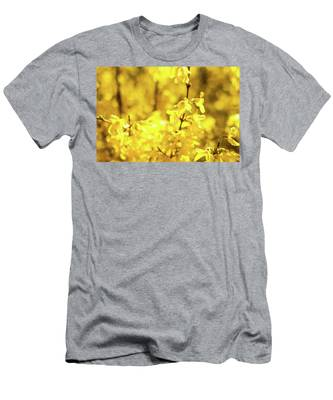 Men's T-Shirt (Athletic Fit) featuring the photograph Beautiful Yellow V by Anne Leven
