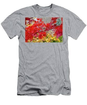 Brilliant Fall Color Men's T-Shirt (Athletic Fit)