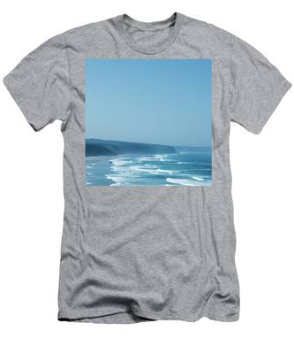 Men's T-Shirt (Athletic Fit) featuring the photograph Coastal Dream I by Anne Leven
