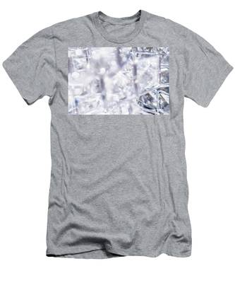 Men's T-Shirt (Athletic Fit) featuring the photograph Crystal Bling II by Anne Leven