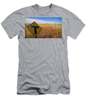 Men's T-Shirt (Athletic Fit) featuring the photograph Decision Time by Carl Young