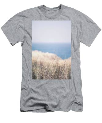 Men's T-Shirt (Athletic Fit) featuring the photograph Field V by Anne Leven