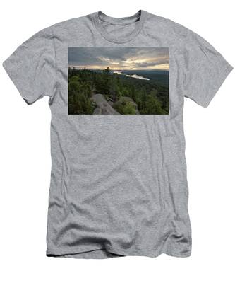 Fourth From Rondaxe Men's T-Shirt (Athletic Fit) by Brad Wenskoski