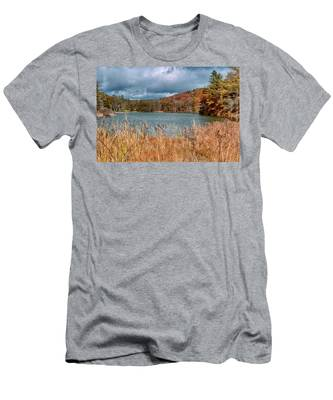 Framed Lake Men's T-Shirt (Athletic Fit)