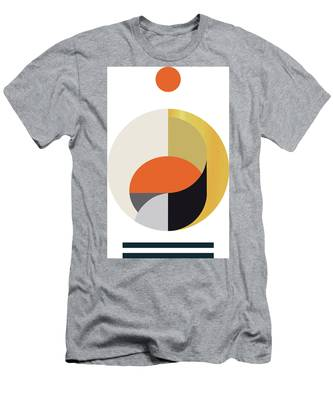 Geometric Painting 12 Men's T-Shirt (Athletic Fit)