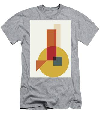 Geometric Painting 13 Men's T-Shirt (Athletic Fit)